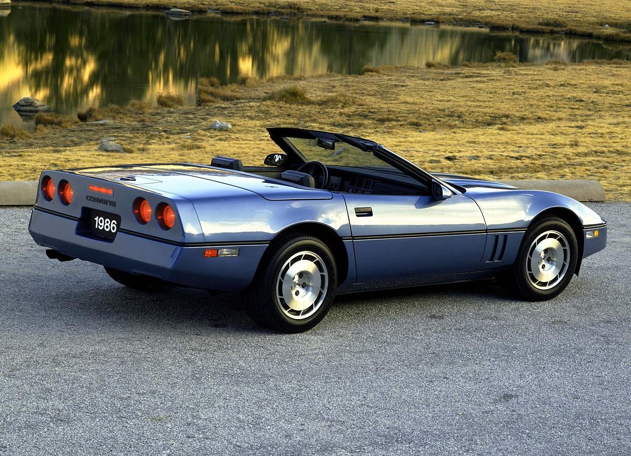 1986 Chevrolet Corvette Convertible. W86HV_CH005