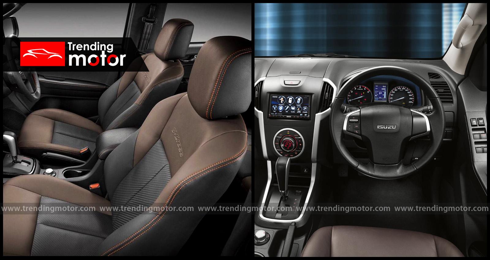 Izusu-D-Max-V-Cross-Interior-2018-trendingmotor