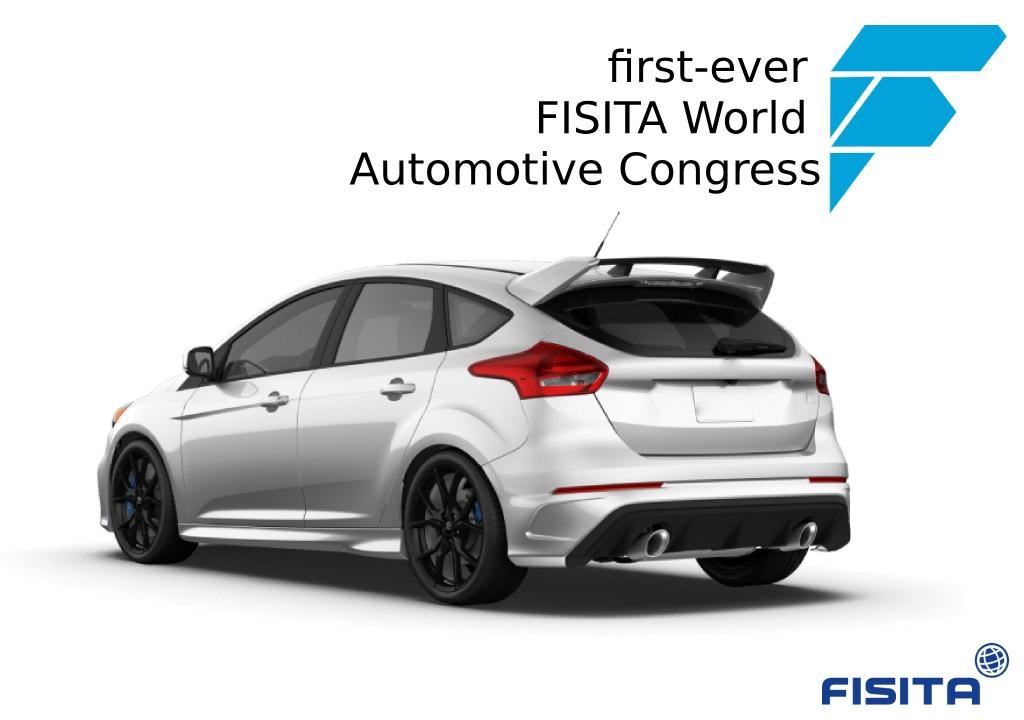 first-ever FISITA World Automotive Congress